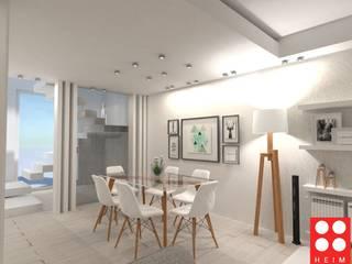 Vivienda Unifamiliar: Comedores de estilo  por Heim Arquitectura Interior