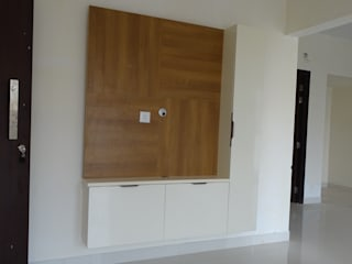 Vajra's Jasmin County Modern living room by Design DNA Hyderabad Modern