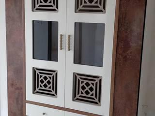 Pooja room door design Modern style doors by Design DNA Hyderabad Modern
