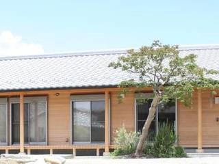 今泉の平屋の家 の 永井政光建築設計事務所 和風