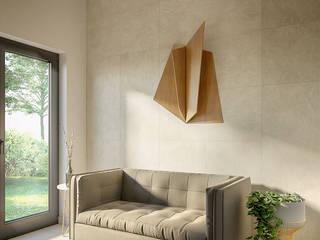 Коттедж 1‑эт, 130 м2, Красноглинский район Коридор, прихожая и лестница в стиле минимализм от WRIGHT FORM Минимализм