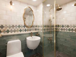 Baños de estilo  por BK Design Studio, Clásico