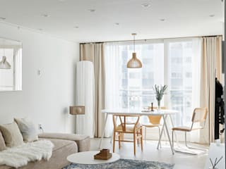 Salon scandinave par BK Design Studio Scandinave