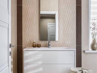 Загородный дом КП Бриз Ванная в классическом стиле от Сапрыкина Светлана Дизайнер Интерьеров Классический