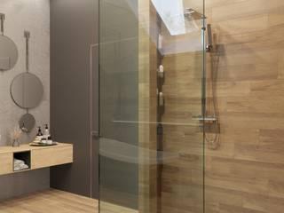 Дом в современном стиле Ванная в стиле лофт от Сапрыкина Светлана Дизайнер Интерьеров Лофт