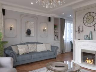 Дом в классическом стиле Гостиная в классическом стиле от Сапрыкина Светлана Дизайнер Интерьеров Классический
