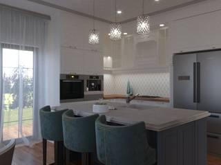 Дом в классическом стиле Кухня в классическом стиле от Сапрыкина Светлана Дизайнер Интерьеров Классический