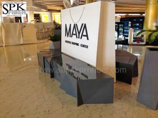 เก้าอี้ไฟเบอร์กลาส และ กระถางไฟเบอร์กลาส โครงการ MAYA:   by ศุภกรไฟเบอร์