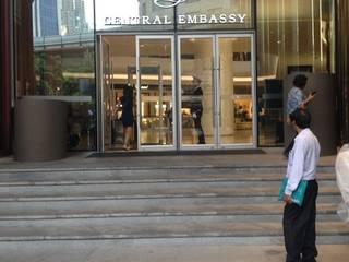 กระถางไฟเบอร์กลาส Central Embassy:   by ศุภกรไฟเบอร์