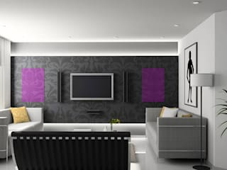 Modern living room by Heat Art - infrarood verwarming Modern