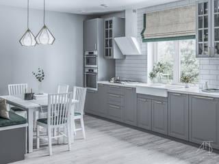 Загородный дом в современном стиле Кухня в стиле модерн от ADI Interiors Group Модерн