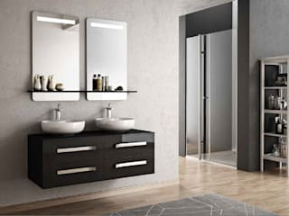 MAESTA BATHROOM FURNITURE – Epoca - Maesta Bathroom Furniture: modern tarz , Modern