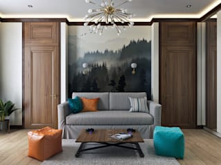 Minimalist living room by Zibellino.Design Minimalist