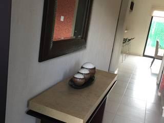 Casa muestra Residencial Faisanes, Merida, Yucatan, Mexico. de Pimusa Muebles y Decoración Ecléctico