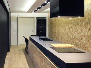 Remodelação Moradia Centro Braga Cozinhas modernas por SAME - Studio Architects Moderno