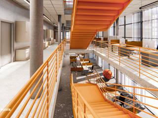 Portafolio Pasillos, vestíbulos y escaleras modernos de GOOD visuals Moderno