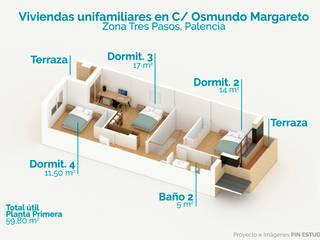 :  de estilo  de Pin Estudio - Arquitectura y Diseño en Palencia
