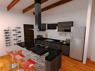 Dima Arquitectos s.a.s Modern kitchen