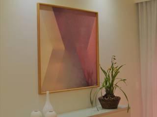 Leveza: Salas de jantar  por Izabella Biancardine Interiores,Moderno