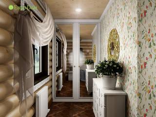ЕвроДом Pasillos, vestíbulos y escaleras de estilo rústico