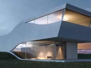 Dom nad morzem: styl , w kategorii  zaprojektowany przez KA Architekci