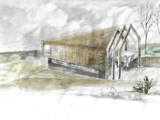 Dom na zboczu od KA Architekci