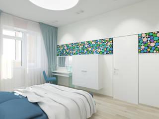 Dormitorios modernos: Ideas, imágenes y decoración de nadine buslaeva interior design Moderno