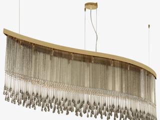 Dancer - Crystal design lamp: Коридор и прихожая в . Автор – MULTIFORME® lighting