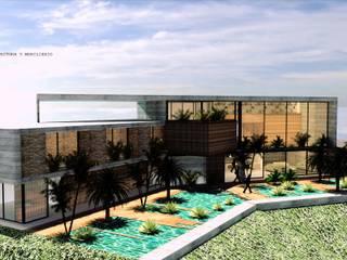 Casas modernas de D2 ARQUITECTURA Y MOBILIARIO Moderno