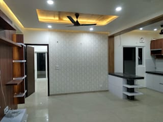 Noida @ gulshan ikebana:  Dining room by Onecolor Decor,