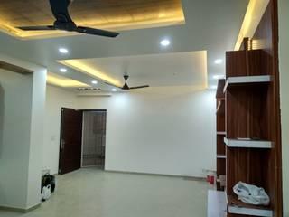 Noida @ gulshan ikebana Asian style corridor, hallway & stairs by Onecolor Decor Asian
