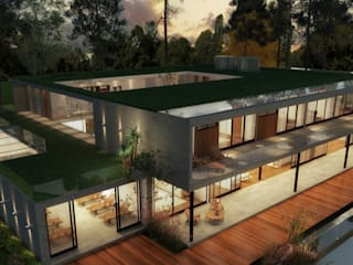 von Viviane Cunha Arquitectura Landhaus