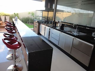 Dapur Modern Oleh Catini & Catini arquitetura Modern