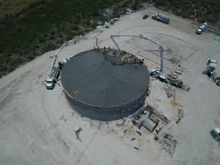 Tanque de Agua Aeropuertos de estilo industrial de FSC Industrial