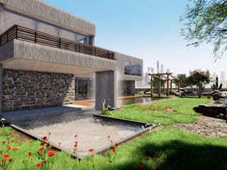 Houses by CR.3D Modeling & Rendering, Modern