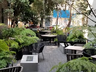 Hotel Roma Norte: Hoteles de estilo  por Huatan