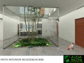 van AIDA TRACONIS ARQUITECTOS EN MERIDA YUCATAN MEXICO Modern