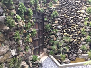 Jardines de estilo tropical de Huatan Tropical