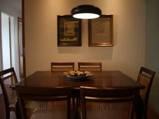 Dining room by Viviane Cunha Arquitetura
