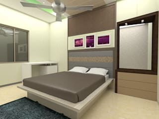 : modern  by Brahmaa Interiors,Modern