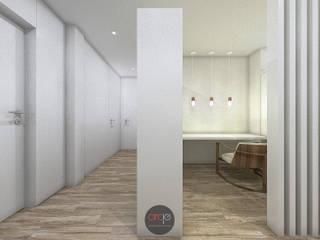 Рабочий кабинет в стиле модерн от arcq.o | rui costa & simão ferreira arquitectos, Lda. Модерн