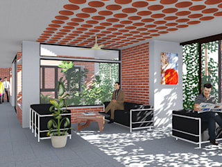 Prapti Group Office Minimalist offices & stores by Fifth Column Minimalist