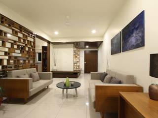 Spring Retreat 4 Minimalist living room by Fifth Column Minimalist
