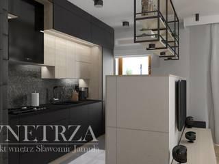 Mieszkanie Kraków: styl , w kategorii  zaprojektowany przez Pracownia Projektowa Jamuła Sławomir