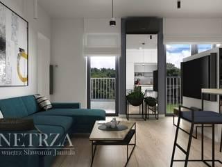 Mieszkanie Rzeszów: styl , w kategorii  zaprojektowany przez Pracownia Projektowa Jamuła Sławomir