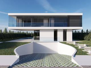 Moradia Unifamiliar, Vila Franca de Xira por Nuno Ladeiro, Arquitetura e Design Moderno