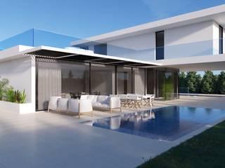 Modern Pool by Nuno Ladeiro, Arquitetura e Design Modern