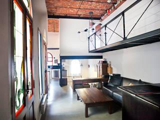 Casa Unifamiliar : Livings de estilo  por Ba75 Atelier de Arquitectura