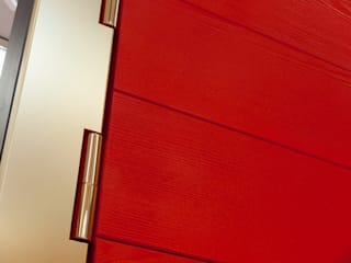 Ercole Srl Front doors Wood Red