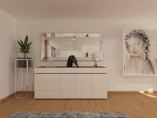 Decordesign Interiores Dining roomDressers & sideboards Chipboard Beige